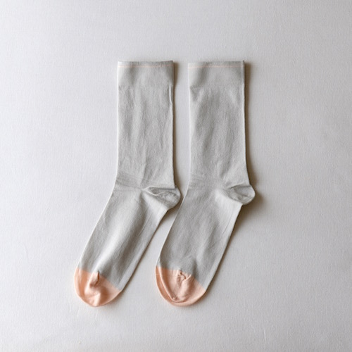 socks Plain Mid-Grey
