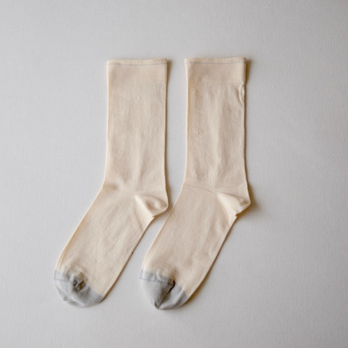 socks Plain Natural