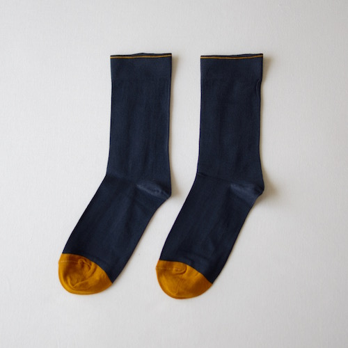 socks Plain Night Blue
