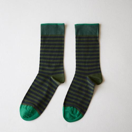 socks Thyme Stripe