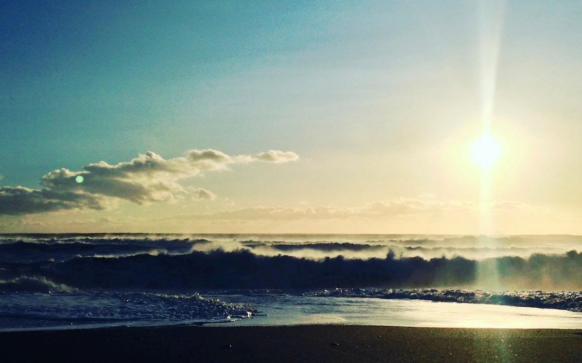 海の表情に魅せられて