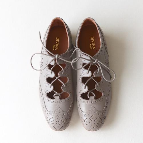 DIVINA イタリア 靴 ギリーシューズ