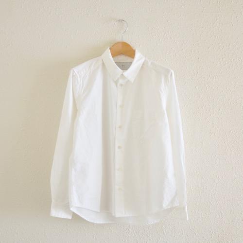 アトリエシャツ White 白シャツ 日常着
