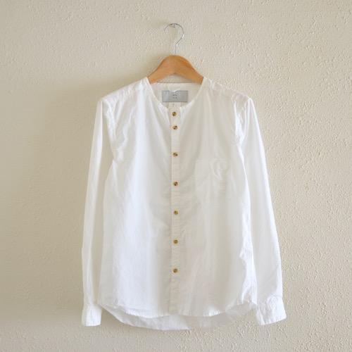 ナードシャツ おたく 白シャツ 日常着