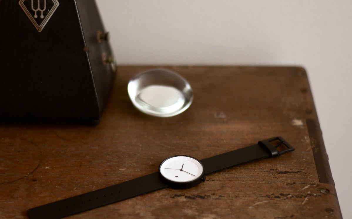 時間の流れを大切にしたくなる時計。