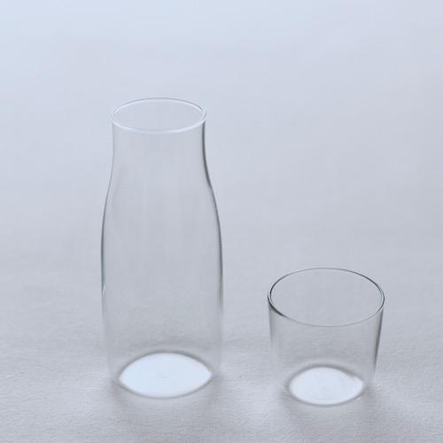ピッチャーアンドカップセット380ml深澤直人デザインのギフトにぴったりなガラスの器