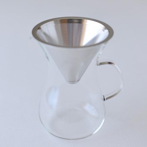 コーヒーパーコレーター深澤直人デザインのギフトにぴったりなガラスの器