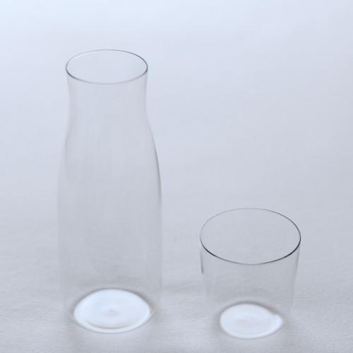 ピッチャーアンドカップセット760ml深澤直人デザインのギフトにぴったりなガラスの器