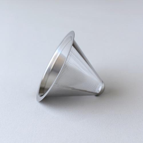 ステンレスコーヒーフィルター深澤直人デザインのギフトにぴったりなガラスの器