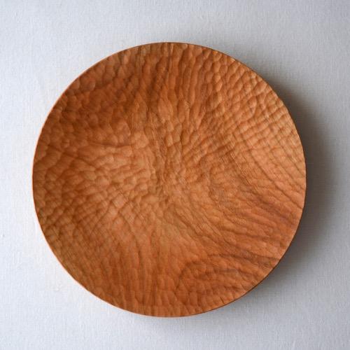 村上圭一さんの手仕事木のうつわの木製皿20cm通販店舗