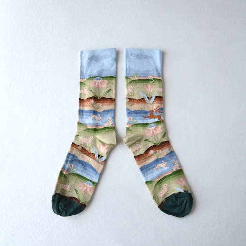 socks Emerald Folk