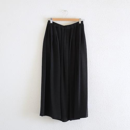 イタリアのファッションブランドNEIRAMIネイラミのタックギャザースカート Black