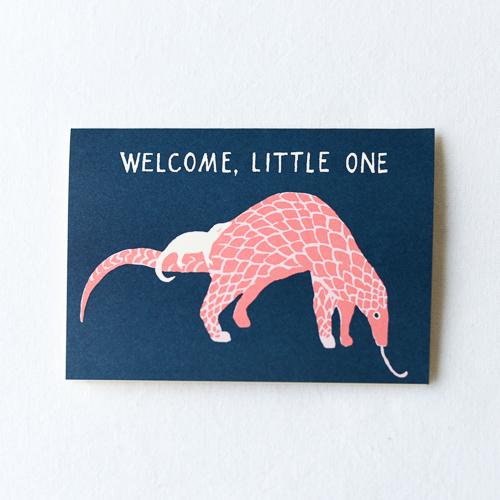 グリーティングカード-出産お祝い-Welcome Baby